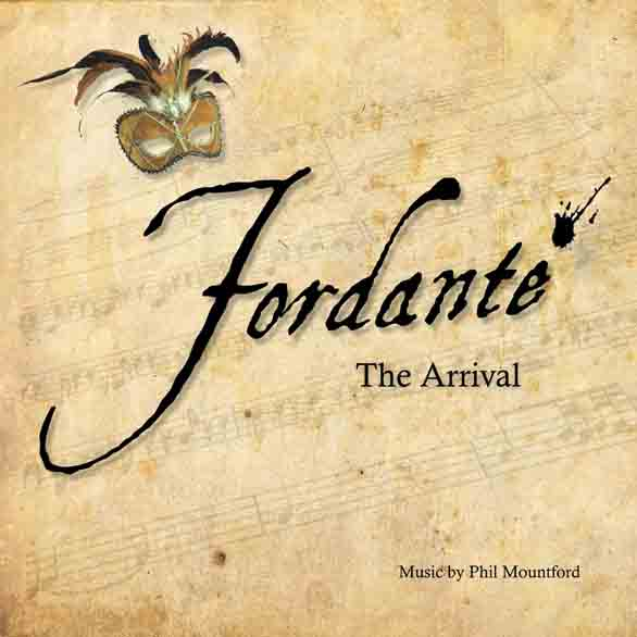 Fordante concept CD cover artwork