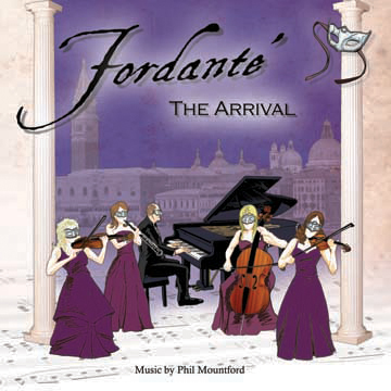 Fordante - The Arrival CD Cover
