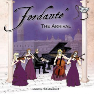 Music from Fordante - The Arrival CD